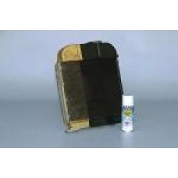 Tinta Spray Radiador Preta Restom Radiam 8860  400 ml.
