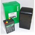 Caixa c/1 Bat 6vGel Bateria Borr.  Lucas B49-6