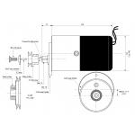 Alternador Velocette Single 12V AC 150W Correia