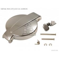 Tampão Depósito Gas.Honda Cromado Kit